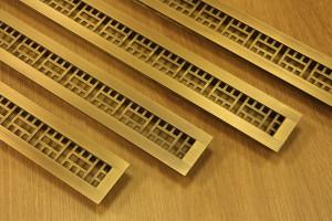 Воздушная геометрия узких решеток