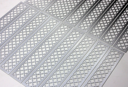 Шлифованный алюминий под лаком