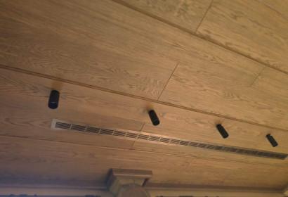 Длинная щелевая решетка в потолок