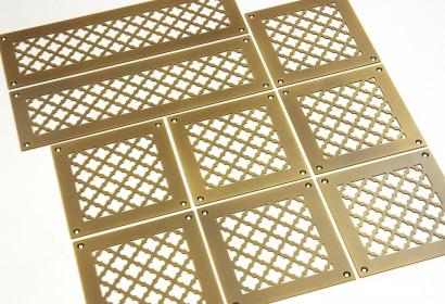 Решетка для вентиляции из латуни