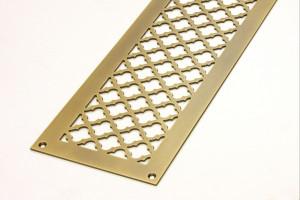 Плоская решетка под бронзу