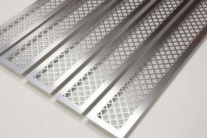 Шлифованные стальные решетки с узором классик