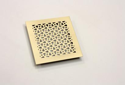 Рассыпная геометрия из шлифованной латуни