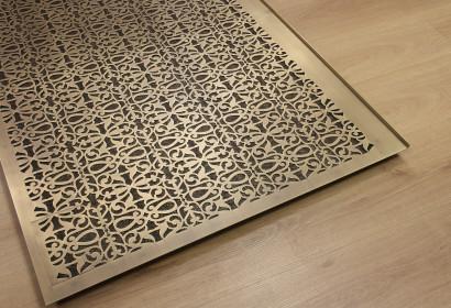 Марокканская решетка из натуральной латуни