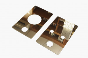 Латунные зеркальные пластины