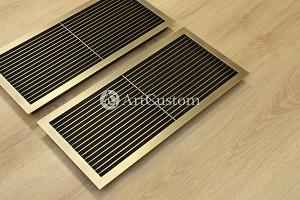 Декоративная вентиляционная решетка из латуни